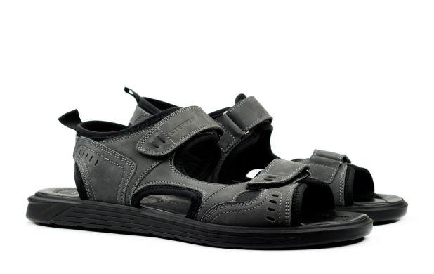 Мужские сандали серые 45 размер 6886-1-45