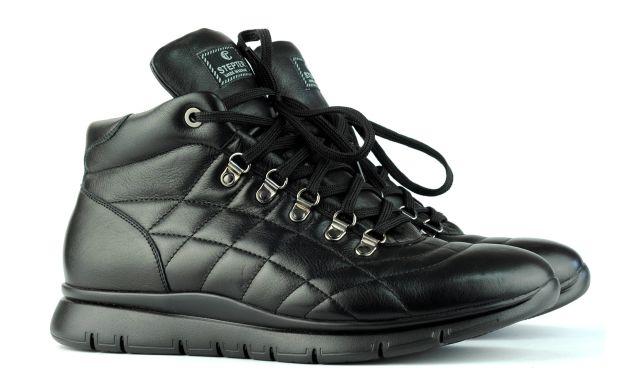 Мужские кроссовки черные 46 размер 6683-46