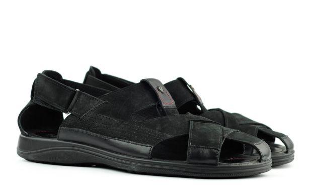 Мужские сандали черные 45 размер 6048-1-45