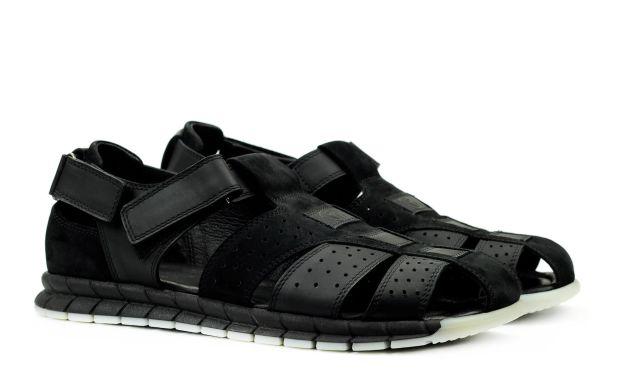 Мужские сандали черные 45 размер 6831-45
