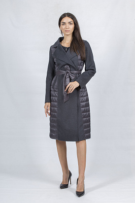 Женское пальто Bella Bicchi 50977 (серый)