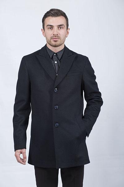 Мужское пальто Kuper 51721 (тёмносиний)