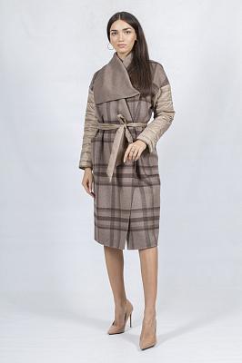 Женское пальто Bella Bicchi 50978 (коричневый)