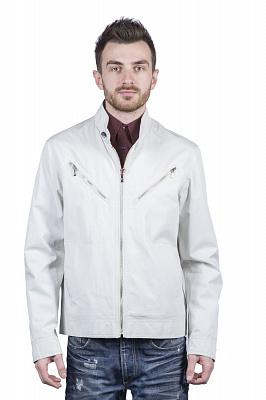 Мужская куртка Kuper 51423 (синий, молочный, бежевый)