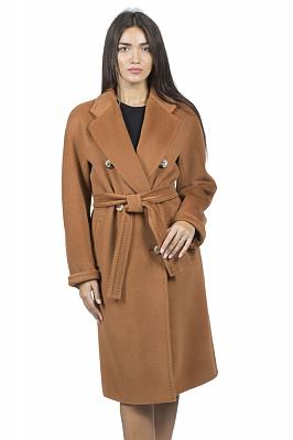 Женское пальто Stella Polare 51148 (кэмел, коньяк)