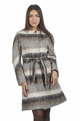 Женское пальто Teresa Tardia 51006 (бежевый)