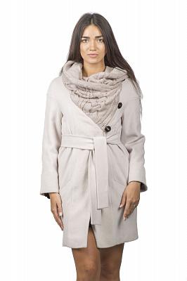 Женское пальто Teresa Tardia 51019 (молочный)