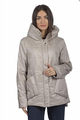 Женская куртка Bella Bicchi 51533 (бежевый, розовый)