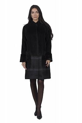 Женское пальто Teresa Tardia 51001 (черный)