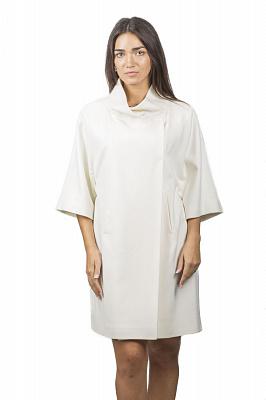 Женское пальто Teresa Tardia 51007 (черный, белый)