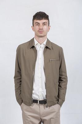 Мужская куртка Kuper 60507 (хаки, тёмносиний)