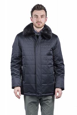 Мужская куртка City Class 51460 (черный)