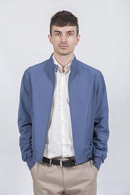 Мужская куртка Kuper 60508 (голубой)