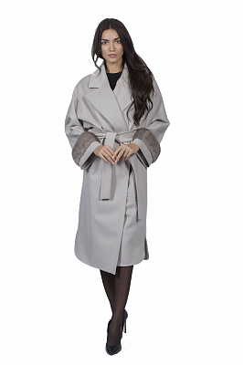 Женское пальто Teresa Tardia 50995 (бежевый)
