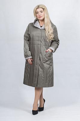 Женское пальто Bella Bicchi 50982 (оливковый)