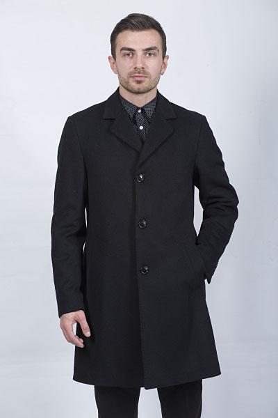 Мужское пальто Kuper 51733 (черный)