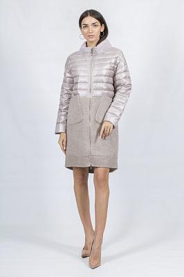 Женское пальто Bella Bicchi 51618 (бежевый)