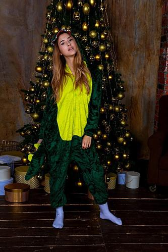 Пижама-Кигуруми Зеленый Дракоша