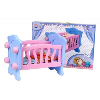 """Игрушка """"Кроватка для куколки ТехноК"""""""