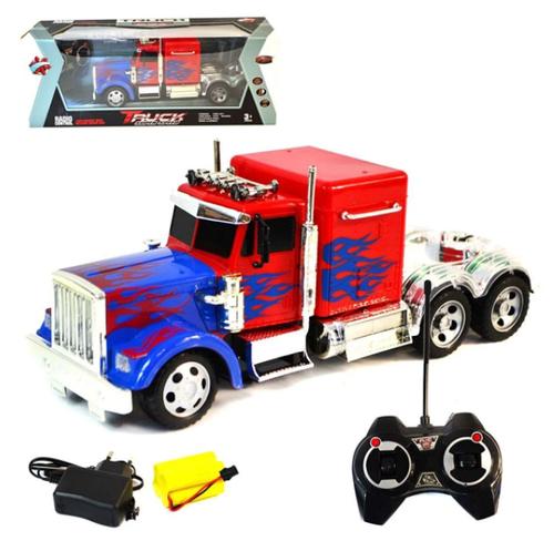 Грузовик на радиоуправлении Truck Super Speed, красный