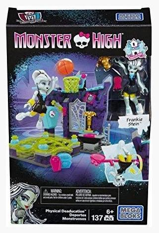 Конструктор Mega Bloks Monster High Френки Штейн Урок Физкультуры