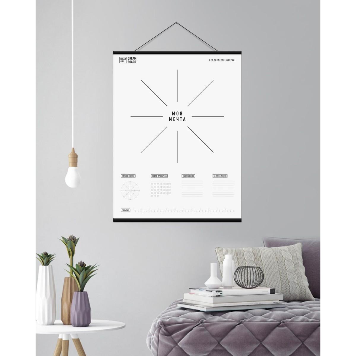 Дошка візуалізації Dream&Do з планками