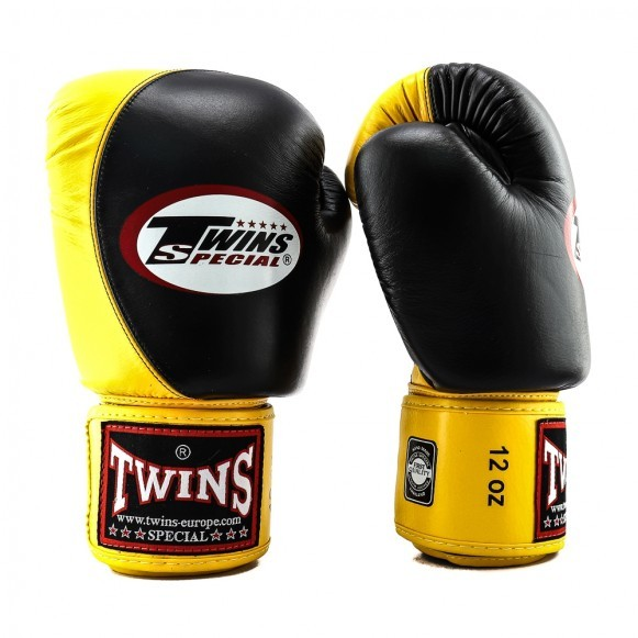 Боксерские перчатки Twins Special Muay Thai Boxing Gloves BGVL-9 (тренировочные)