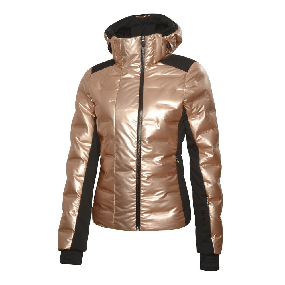 quasar w jacket rose gold - black