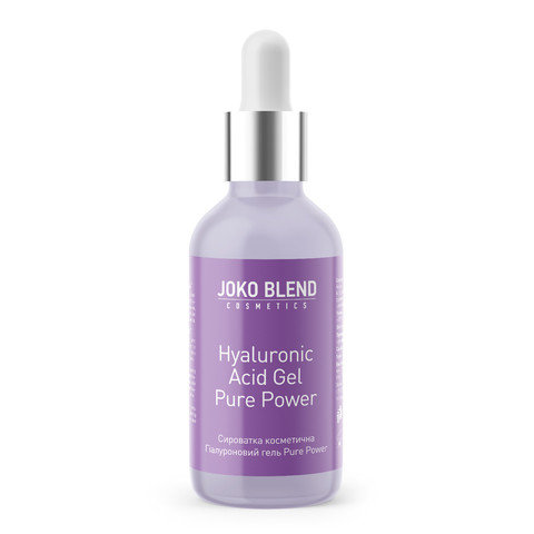Сироватка для обличчя Hyaluronic Acid Gel Pure Power Joko Blend 30 мл