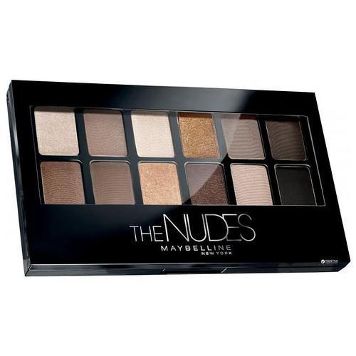 Палетка теней для век Maybelline The Nudes Palette 9.6 g