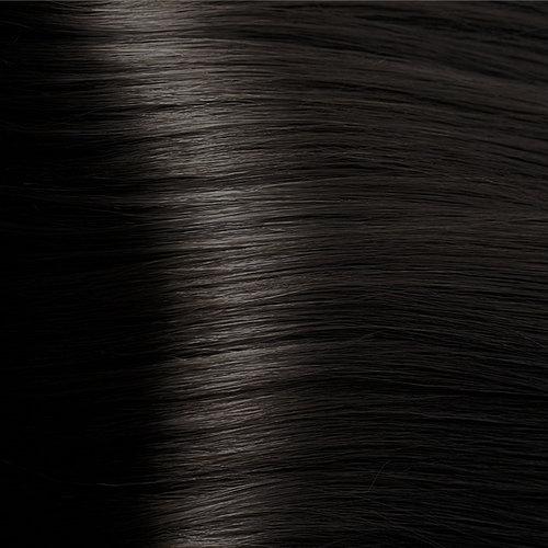 Краска для волос K-time Radyca без силиконов и PPD 100мл стойкая окислительная краска 4,71 Cold Brown Chestnut