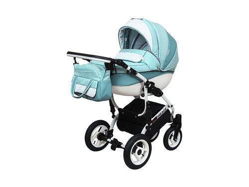 """Детская универсальная коляска 2в1 """"Grand Mirage White"""""""
