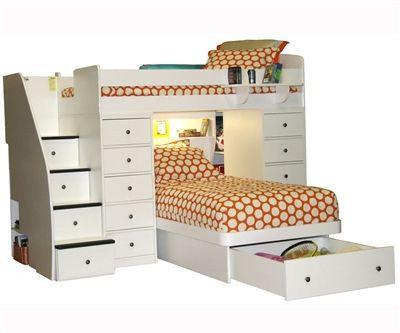 Детская кровать-чердак ДМ 710