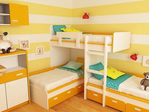 Детская двухъярусная кровать чердак ДМ167