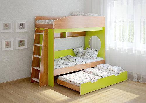 """Детская двухъярусная кровать чердак дм156 """"Стиль"""""""