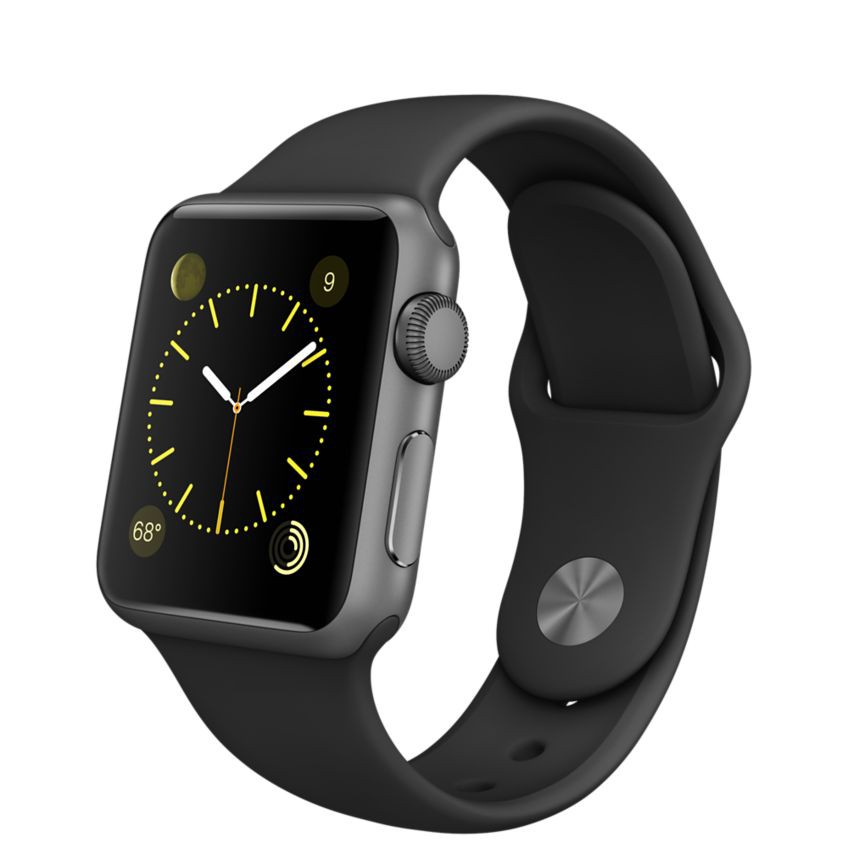 Ремешок Sport Band для Apple Watch 38mm (Black)