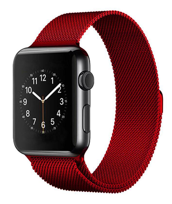 Ремешок Milanese Loop Magnetic Band для Apple Watch 42mm (Red)