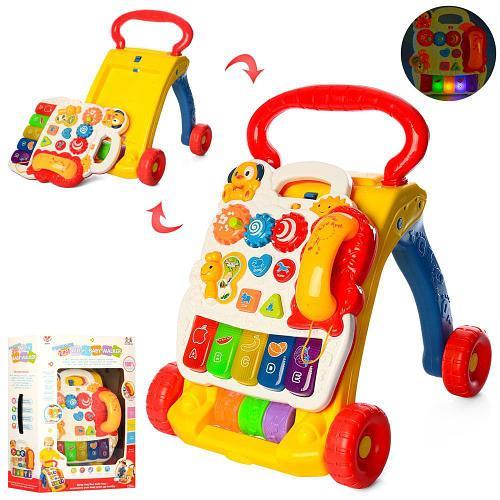 Каталка-ходунки с игровым центром SY81 Разноцветный