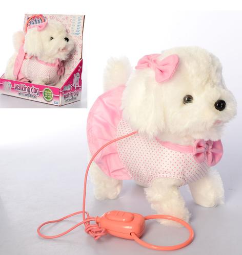 Собака с дистанционным поводком со звуковыми эффектами MP 2130-1