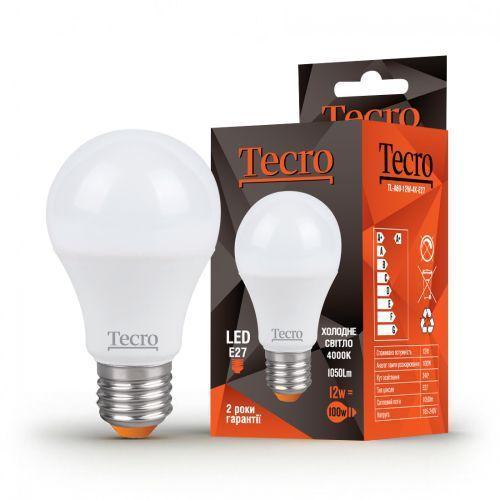 Лампа LED TECRO TL-A60-12W-4K-E27