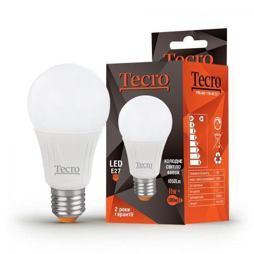 Лампа LED TECRO PRO-A60-11W-4K-E27