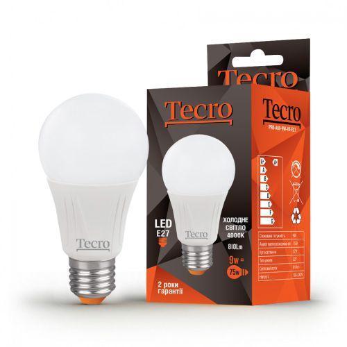 Лампа LED TECRO PRO-A60-9W-4K-E27