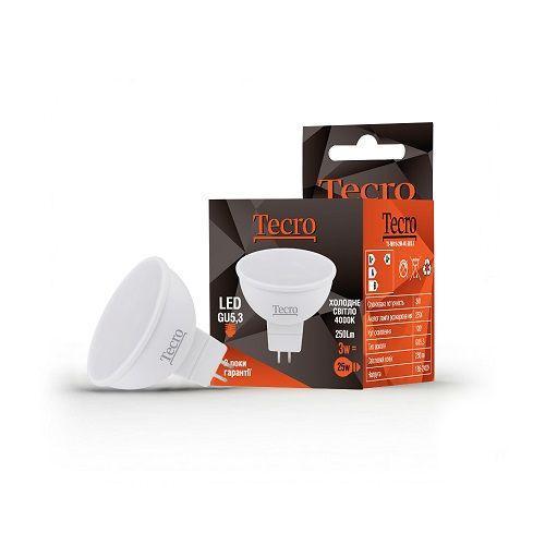 Лампа LED TECRO TL-MR16-3W-4K-GU5.3