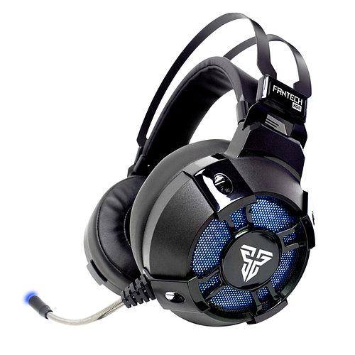 Проводная гарнитура FANTECH HG11 CAPTAIN Black объемный звук 7.1 USB технология True RGB подсветка