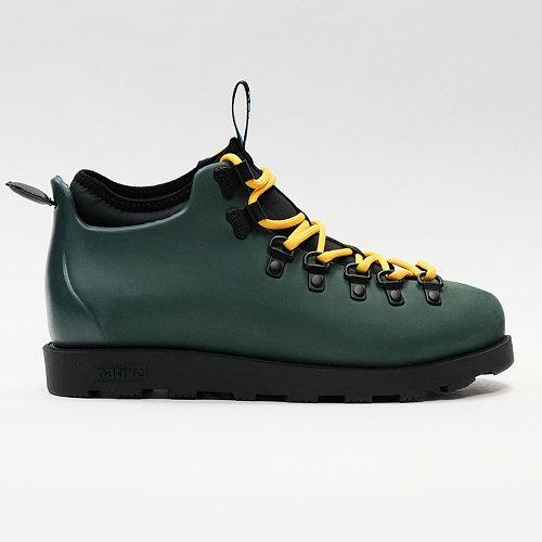 Кроссовки мужские оригинальные Native Fitzsimmons Citylite Spooky Green/Jiffy Black зеленые 44