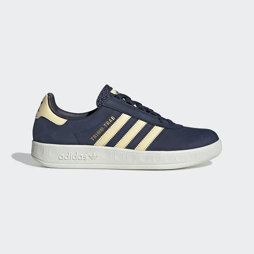 Кроссовки женские оригинальные Adidas Trimm Trab Samstag синие 39