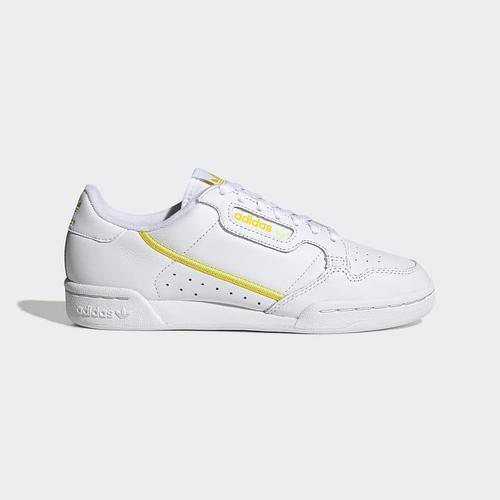 Кроссовки мужские оригинальные Adidas Continental 80 кожаные белые 39