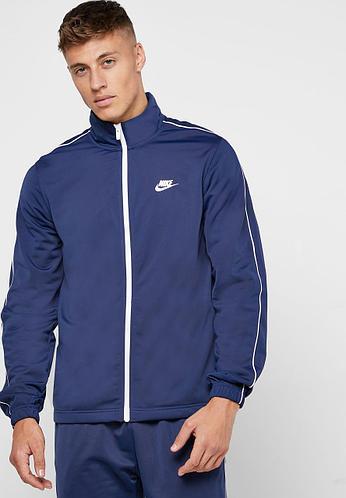 Спортивный костюм мужской Nike синий M NSW CE TRK SUIT PK BASIC M