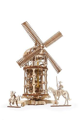 Механический 3D пазл UGEARS Башня-Мельница (70055)