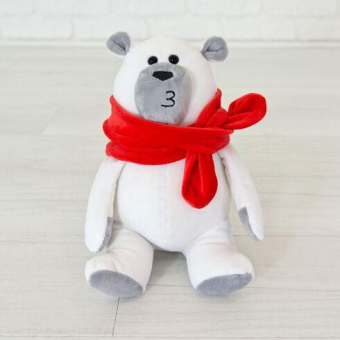 Мягкая игрушка Kidsqo медведь Маршмеллоу 20см белый (627)